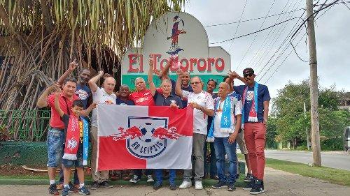 Kampf um den DFB-Pokal: RB Leipzigs Fanclub in Havanna fiebert mit