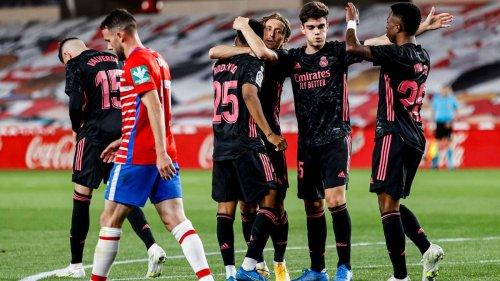 Real Madrid wahrt Meister-Chance: Königliche geben sich in Granada keine Blöße