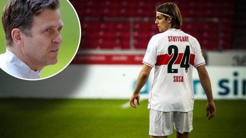 Bierhoff bestätigt FIFA-Regel: Stuttgart-Profi Sosa wird nicht für DFB-Team spielen