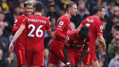 Liverpool weiter ungeschlagen: Furiose Sturmreihe trifft bei Kantersieg in Watford