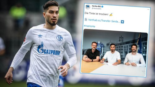 Vertragslaufzeit, Trikot-Nummer, Reaktionen: So erklären Serdar und Hertha-Boss Bobic den Wechsel