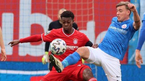3. Liga im Liveticker: Verhoek bringt Hansa bei Bayern II in Führung