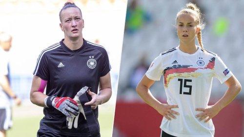 Aufgebot offiziell: Schult und Gwinn kehren in Kader der DFB-Frauen zurück