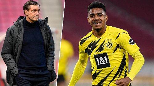"""Manager Zorc nimmt BVB-Talent Knauff in die Pflicht: Tor-Debüt nur der """"Startschuss"""""""