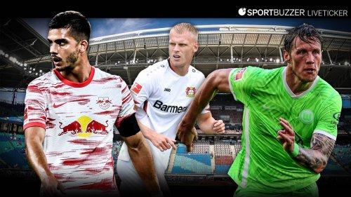 Bundesliga im Liveticker mit RB Leipzig, Bayer Leverkusen und dem VfL Wolfsburg
