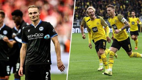 Bielefeld gegen Dortmund live im TV und Online-Stream sehen