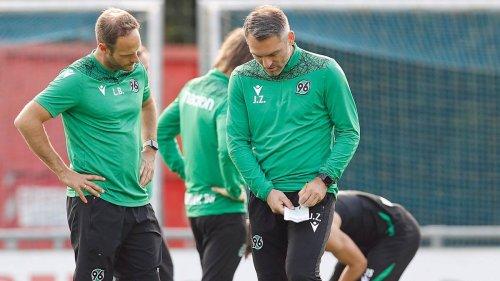 """""""Haben Super-Optionen"""": 96-Coach Zimmermann freut sich über neue Kaderbreite"""
