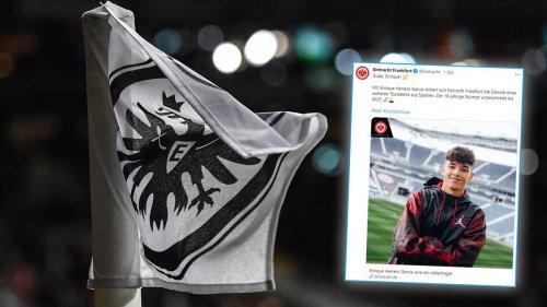 Transfer fix: Frankfurt verpflichtet 16-jähriges Top-Talent aus Villarreal