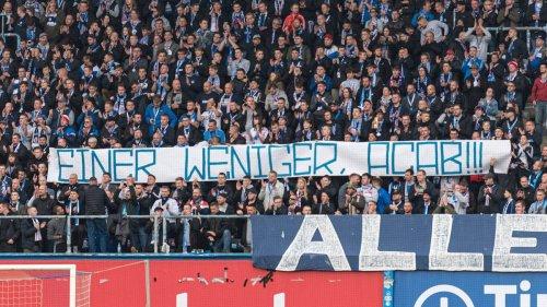 Hansa Rostock: DFB ermittelt wegen Hass-Banner