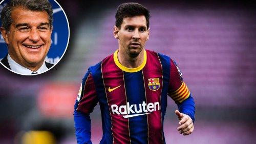 Messi kurz vor Ligastart noch vereinslos – Barca-Boss Laporta gibt Update