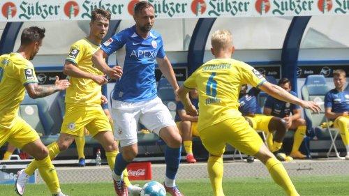 2. Liga im Liveticker: Hansa Rostock gegen den Karlsruher SC