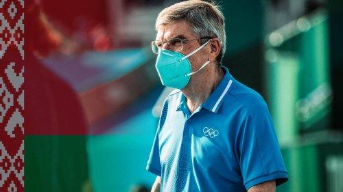 Fall Timanowskaja: IOC-Präsident Bach hält weitere Sanktionen gegen Belarus für möglich