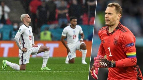 """DFB-Team beteiligt sich an Kniefall – Neuer: """"Mussten nicht lange nachdenken"""""""
