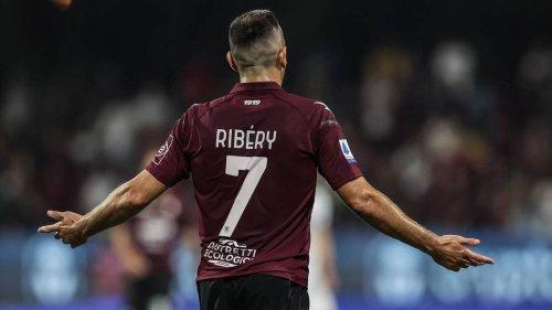 Verletzung und Niederlage: Ribérys Startelf-Debüt bei Salernitana misslingt