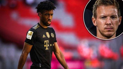 "Bayern-Trainer Julian Nagelsmann verrät Plan mit Kingsley Coman – Serge Gnabry muss ""maximal fit"" sein"