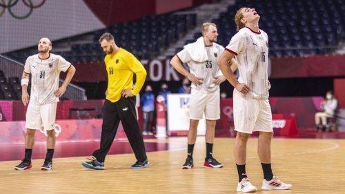 """""""Wird noch lange nachwirken"""": Deutsche Handballer nach bitterem Olympia-Aus gegen Ägypten bedient"""