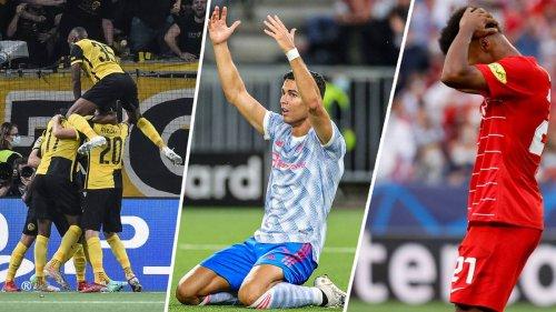 Kompakt: ManUnited verliert trotz Ronaldo-Treffer in Bern, Elfmeter-Irrsinn in Sevilla