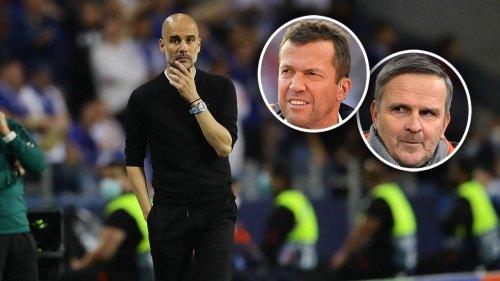 Matthäus und Hamann geben Guardiola Schuld an ManCity-Pleite: So hat sich Pep vercoacht