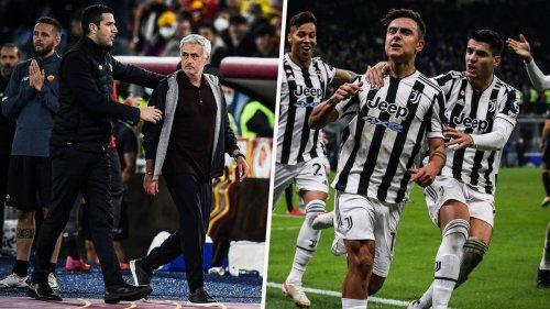 Mourinho-Rot bei Remis gegen Neapel – Dybala rettet Punkt in Mailand