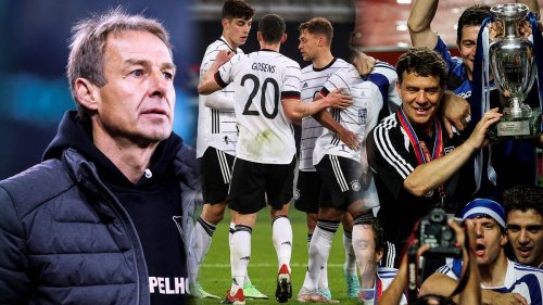 Vor EM-Start: Klinsmann vergleicht DFB-Team mit Sensations-Europameister Griechenland