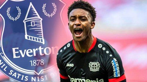Everton-Transfer fix: Gray verlässt Leverkusen nach einem halben Jahr wieder