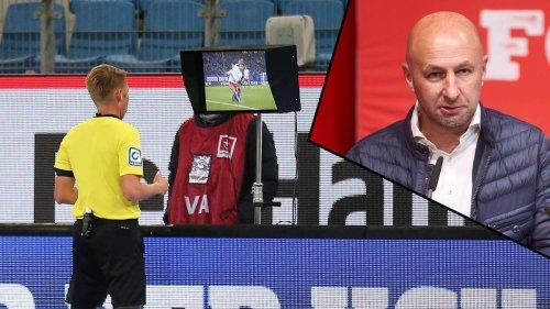 """""""Pseudogenauigkeit"""" - Augsburg-Boss Klaus Hofmann plädiert für Abschaffung des Videobeweises"""