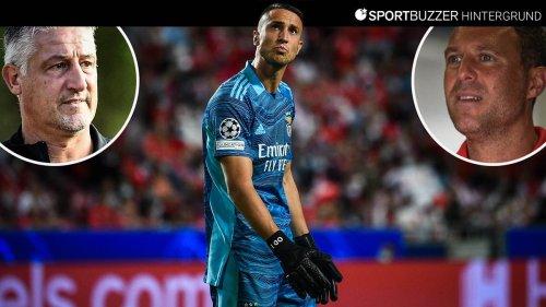 Der ungewöhnliche Karriereweg von Vlachodimos: Ex-Trainer trauen Benfica-Keeper Bundesliga-Rückkehr zu