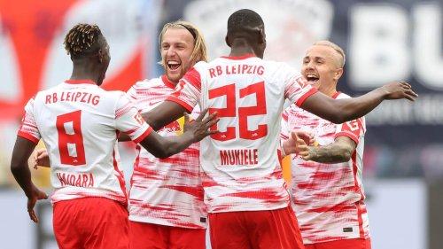 6:0-Sieg! RB Leipzig schießt sich gegen Lieblingsgegner Hertha aus der Krise