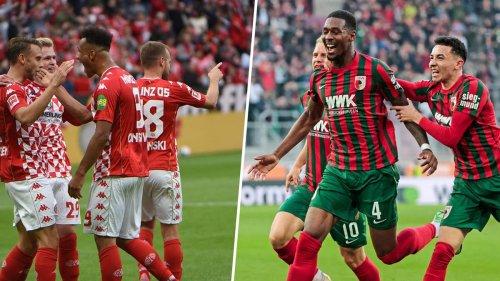 Mainz gegen Augsburg live im TV und Online-Stream sehen