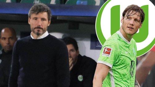 Weghorst nur auf der Bank: Wolfsburg-Trainer Van Bommel erklärt Entscheidung
