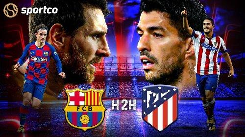 Barcelona vs Atletico Madrid: Head to Head La Liga Record   H2H Stats   History   Results