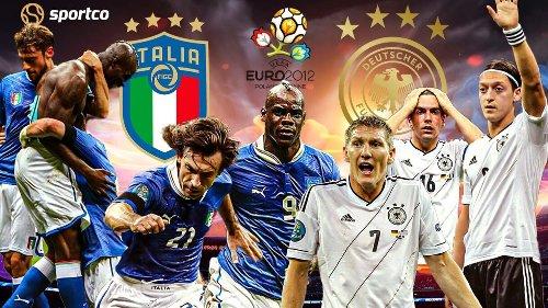 Sportco Euro Classics Series: Italy 2-1 Germany Euro 2012 Semi-final