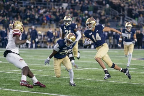 Four Notre Dame Football Players Launch Podcast With Colin Cowherd