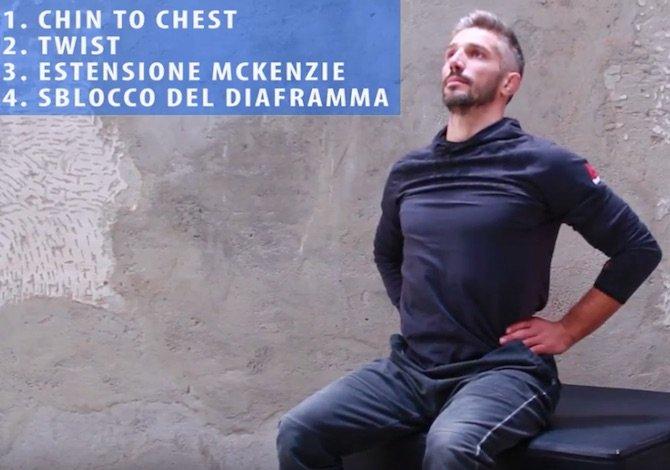 4 esercizi per la schiena e la postura per chi lavora da casa