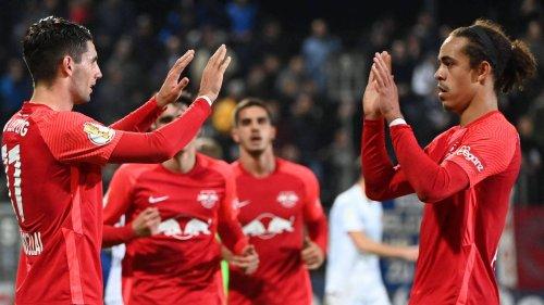 DFB-Pokal, 2. Runde: SV Babelsberg - RB Leipzig 0:1