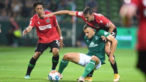 SV Werder Bremen gegen Hannover 96: 1:1, 1. Spieltag