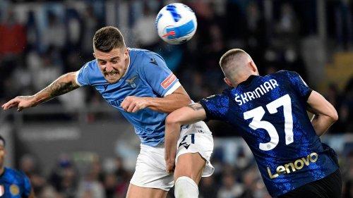 Fußball, Italien, 8. Spieltag: Inter kassiert Rückschlag gegen Lazio