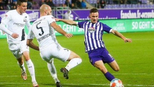 FC Erzgebirge Aue gegen FC Ingolstadt - die Zusammenfassung