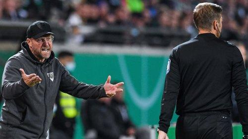 """Preußen-Coach Hildmann: """"Kann die gelb-rote Karte nicht verstehen"""""""