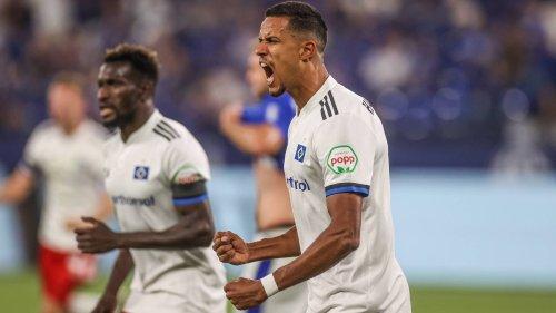Schalke 04 gegen Hamburger SV: 1:3, 1. Spieltag