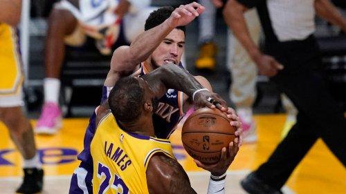 NBA - Phoenix Suns kegeln die Lakers raus