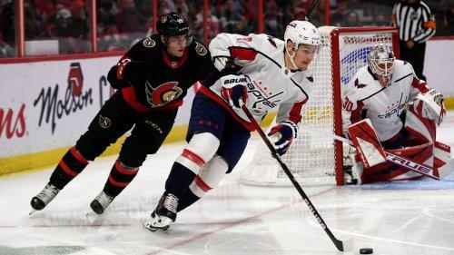 NHL - Washington Capitals zu stark für Stützles Ottawa Senators