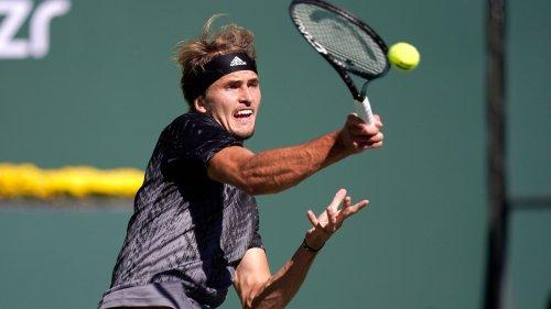 Zwei Matchbälle vergeben: Zverev in Indian Wells raus