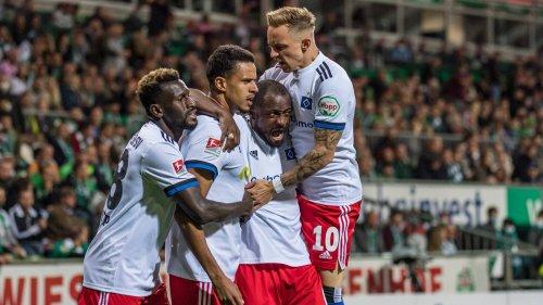 2. Bundesliga: Werder Bremen - Hamburger SV 0:2, 7. Spieltag