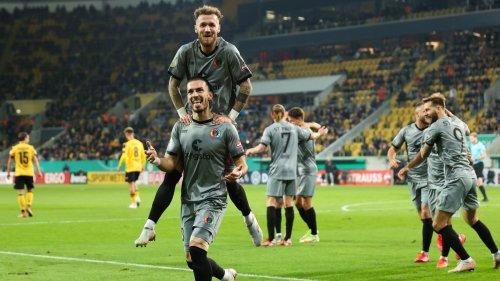 DFB-Pokal, 2. Runde: Dynamo Dresden gegen FC St. Pauli: 3:2 n.V.