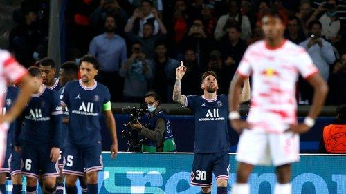 Fußball, Champions League: RB Leipzig verliert mit 2:3 bei Paris St. Germain
