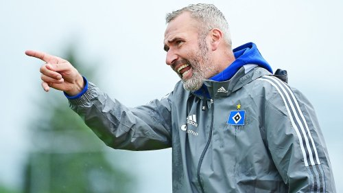 HSV auf Schalke: Neu-Coach Walter kündigt Überraschungen an