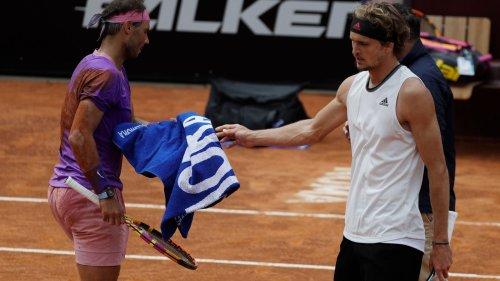 Trotz guter Leistung: Nadal für Zverev dieses Mal zu stark