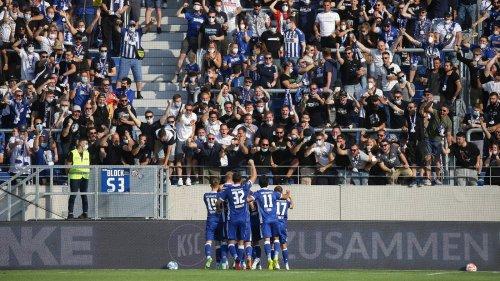 Karlsruher SC gegen SV Darmstadt 98: 3:0, 2. Spieltag