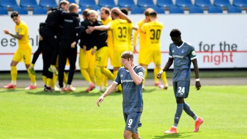 VfL Osnabrück gegen Hamburger SV: 3:2, 33. Spieltag